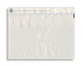 Dokumententaschen C5 Transparent, VE a. 1000 Stück