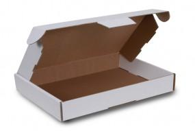 Maxibriefkartons 350 x 250 x 50 mm, Weiß (DIN A4+ / B4)