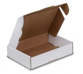 Maxibriefkartons 180x130x45mm, A6/B6, MB 4, weiß