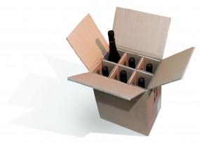 6er PTZ- Weinverpackung System Pronto