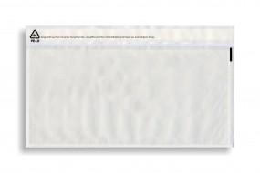 Dokumententaschen DIN Lang, Transparent, VE a. 1000 Stück