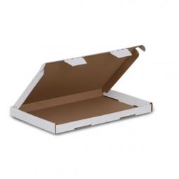 Großbriefkarton 230x160x20mm (DIN A5) - Weiss