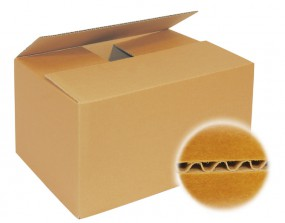 Kartons 350x350x140mm einwellig