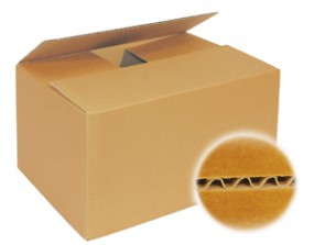 Kartons 400x300x200 mm einwellig