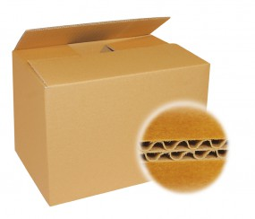 Kartons 430x300x200 mm zweiwellig