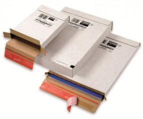 Maxibrief - Großbrief Kurierpaket 216x139x29 mm, weiß