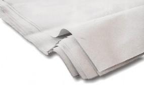 Packpapier im 1/2 Bogenformat, 50x75cm, weißlich
