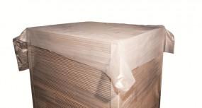 Paletten Abdeckfolie 1200 x 1600mm, transluzent, Rolle a. 250 Stück