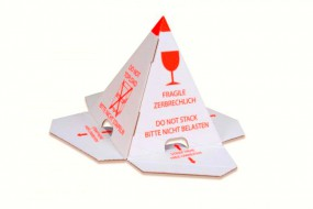 Palettenhütchen - Nicht stapeln - Stapelschutzpyramide