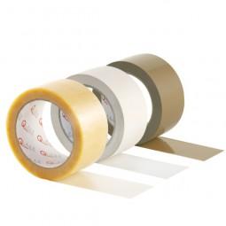PVC Packband transparent, Premium - Markenqualität, 50mm x 66m