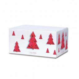 Weihnachtskartons Tannenbaum 300x215x140mm, weiß B 1.3