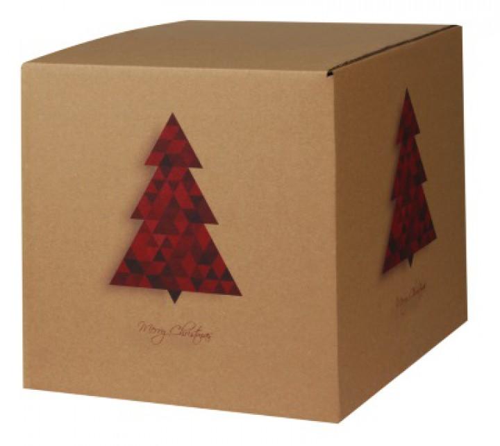 weihnachtskartons tannenbaum 300x300x300mm braun b 1 2. Black Bedroom Furniture Sets. Home Design Ideas