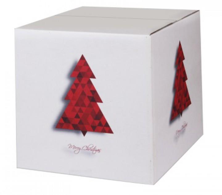 weihnachtskartons tannenbaum 300x300x300mm wei b 1 3. Black Bedroom Furniture Sets. Home Design Ideas