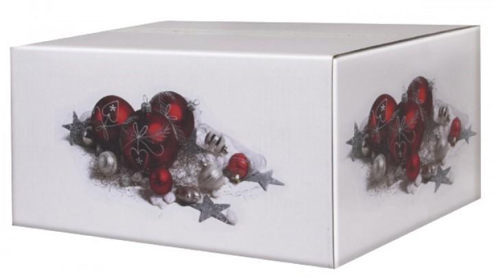 weihnachtskartons weihnachtsschmuck 400x300x200mm wei b. Black Bedroom Furniture Sets. Home Design Ideas