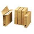 Archivboxen, braun