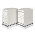 Archivboxen, weiß