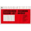 Dokumententaschen und Etiketten