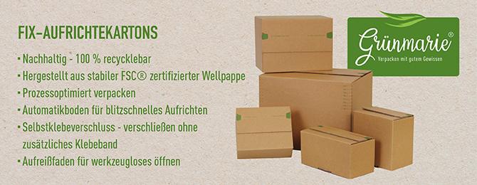Grünmarie - Verpacken mit gutem Gewissen