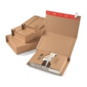 Post- Buchverpackung, Maxibriefkartons