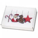 Weihnachtliche Maxibriefkartons