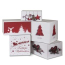 Weihnachtliche Versandkartons