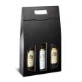 Weintragekartons für 3 Flaschen