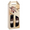 Weintragekartons offene Welle